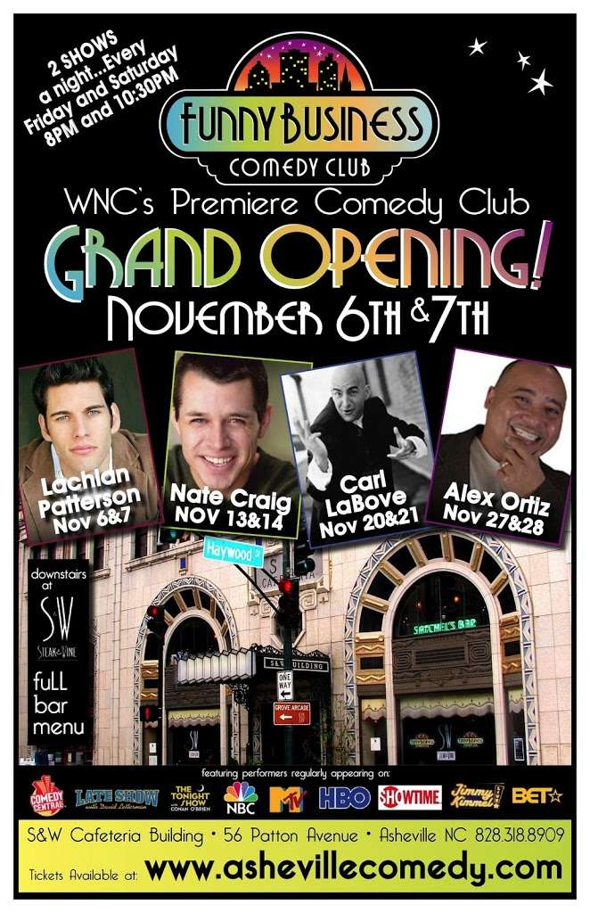 New Comedy Club Opens in Asheville