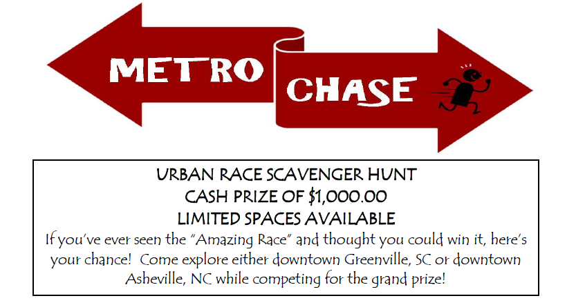 "Asheville's ""Amazing Race"""