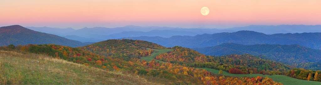 Top 5 Sunset Spots in Asheville