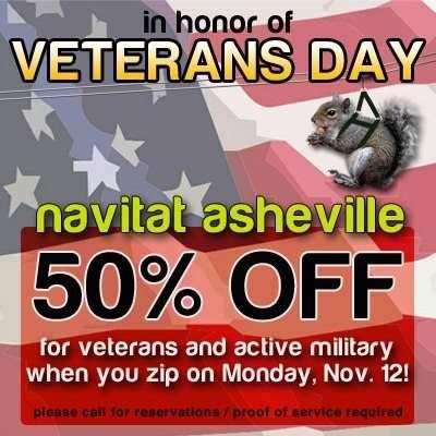 Navitat Veteran's Day Special