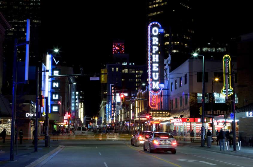Restaurants Vancouver Broadway And Granville
