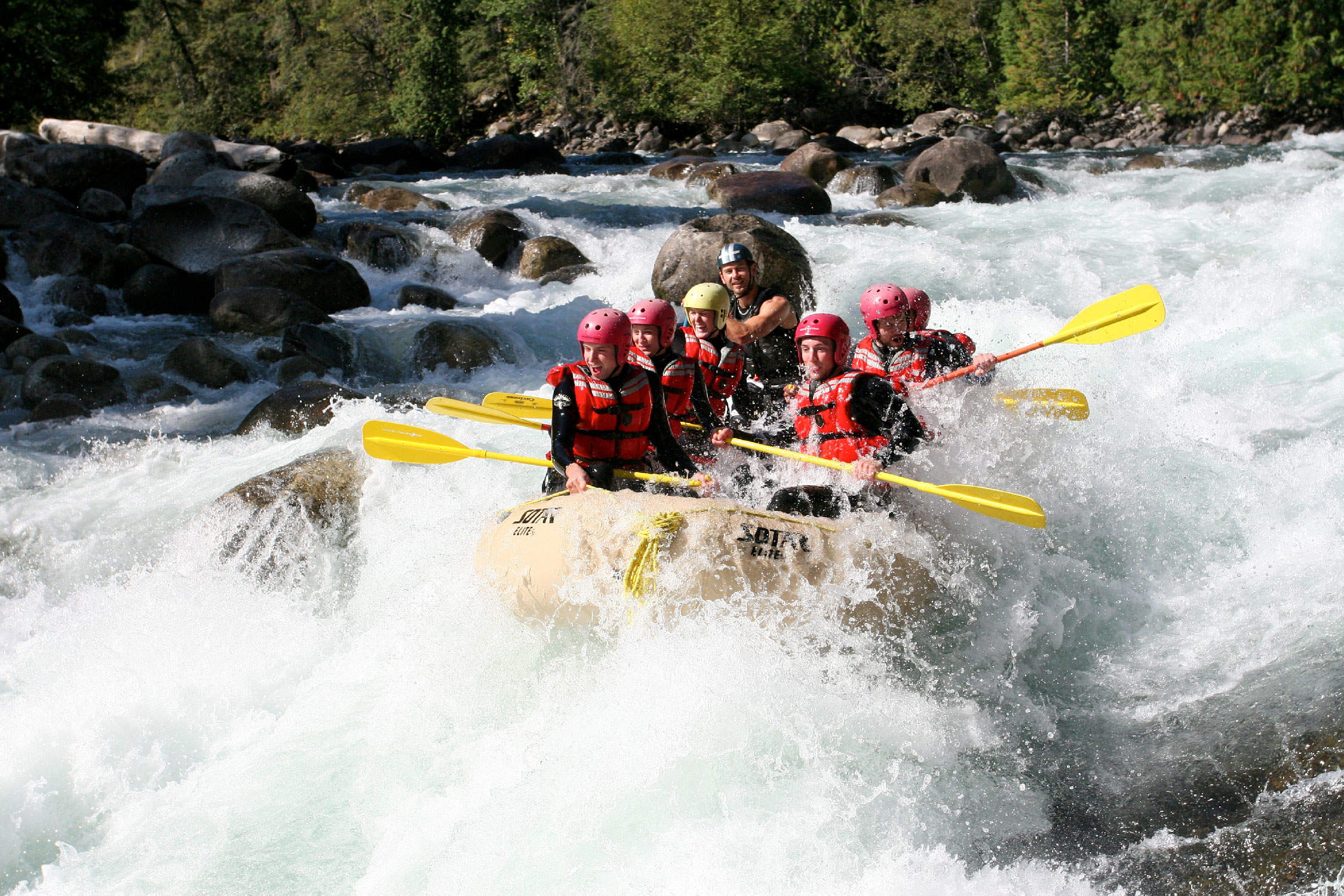 White Water Rafting In Vancouver Bc
