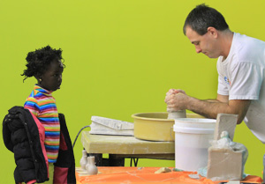 Play with clay at the Schweinfurth Art Center