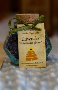 Lavendar from Bee Attitudes Honey