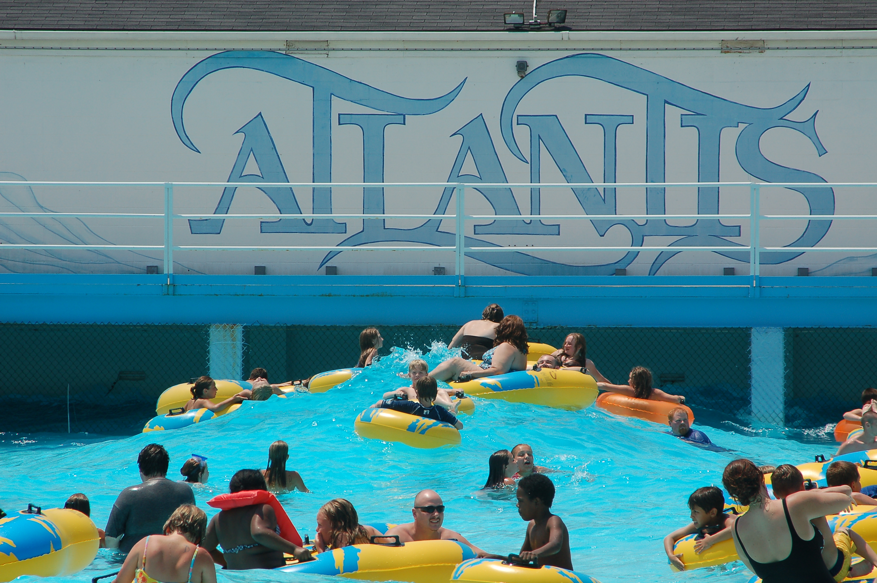 Wave Pool at Atlantis Water Park