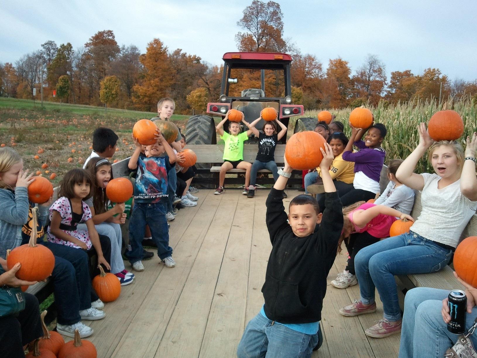 Joe Hubers Pumpkin time