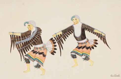Awa Tsireh Eagle Dance