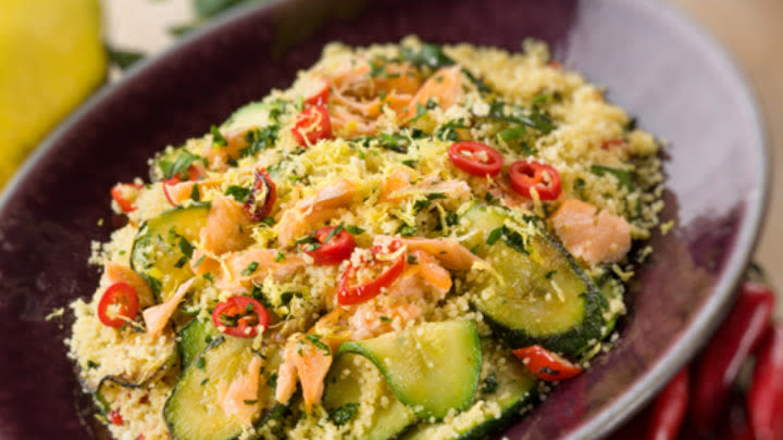 Two power foods make one great salad.