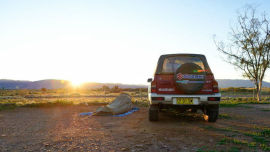 A swag, a trusty 4x4 and a sense of adventure are all Kath Swinbourne needs to explore the outback.