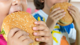 Advertising agencies and their clients are at their worst when they push unhealthy fast foods during children's television time.