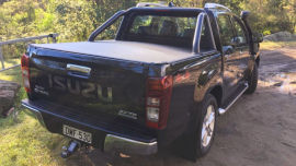 The big and beefy D-Max is a tradie's dream.