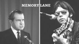 Richard Nixon and Neil Young.