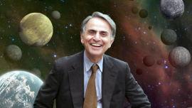 Carl Sagan .