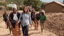 In rural Rwanda .