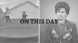 Trampoline and Valentina Tereshkova.