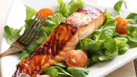 Salmon delights.