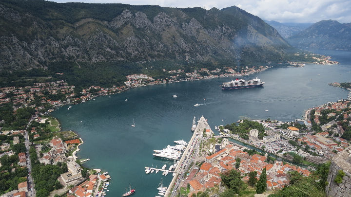 An hours hike to the top of Kotor Old Town was worth every drop of sweat for that view.