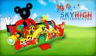 Mickey Mouse Toddler Moonwalk