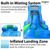 15ft Retro Slide Side Front View Misting System