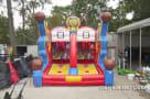 Houston basketball shooting carnival game rental in Houston