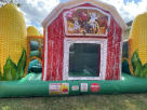 Corn Mae Bounce House for Rent