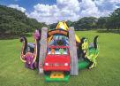 Dinosaur Land Bouncer House Combo For Rent