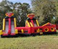 Giant Double Rush Obstacle Course