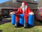 Houston Santa Inflatable Portraits for hire