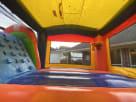 Water Slide Rainbow Modern Bounce House Combo