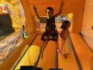Inside Ice Cream Truck Bounce House Combo