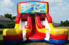 16ft Double Lane Super Mario Slide