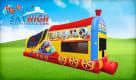 Mickey Train Jump House Rental
