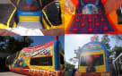Inside Mickey Choo Choo Train