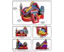 Amusement Park Obstacle Dimensions
