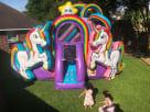 Rainbow Kids Bounce House