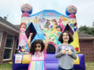 Disney Princess inflatable for birthday parties