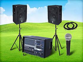 Medium PA Sound System