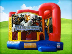4in1 Transformers Bounce House