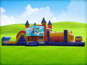 50ft Mario Obstacle Course Rentals
