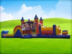 50ft Super Heroes Obstacle w/ Wet or Dry Slide