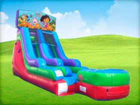 15ft Dora the explorer Retro Wet/Dry Slide