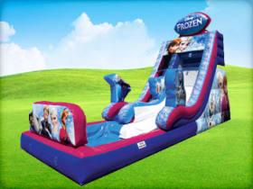 Frozen inflatable slide rental