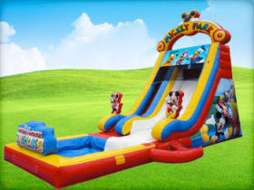 Mickey Mouse Slide (Dry/Wet) with Pool