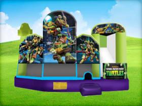 Ninja Turtles 5in1 Combo w/ (Wet or Dry Slide)