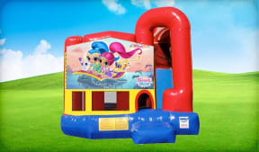 Shimmer and Shine 4in1 Combo w/ Wet or Dry Slide