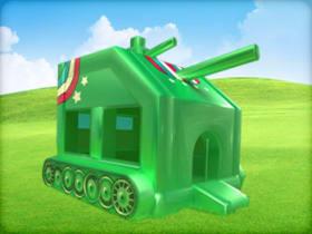 tank bounce house rental