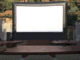 Inflatable Movie Screening
