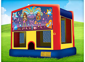 13 x 13 It's A Girl Thing Bounce House