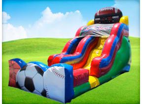 18ft Sports Slide (Wet & Dry)