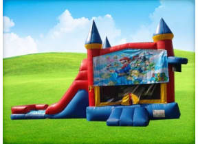 3in1 Mario Obstacle w/ Wet or Dry Slide